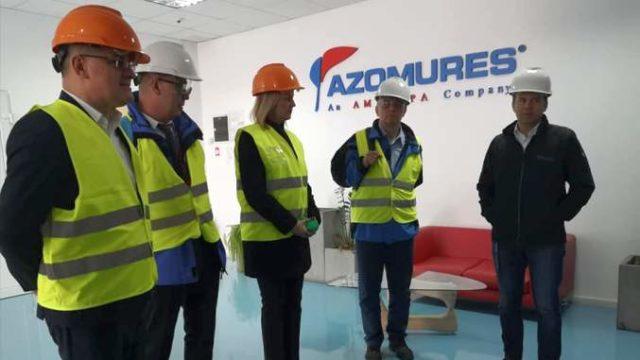 """Adrian Oros la Azomureș: """"Odată cu importul masiv de îngrășăminte va crește și prețul alimentelor la consumatori"""""""